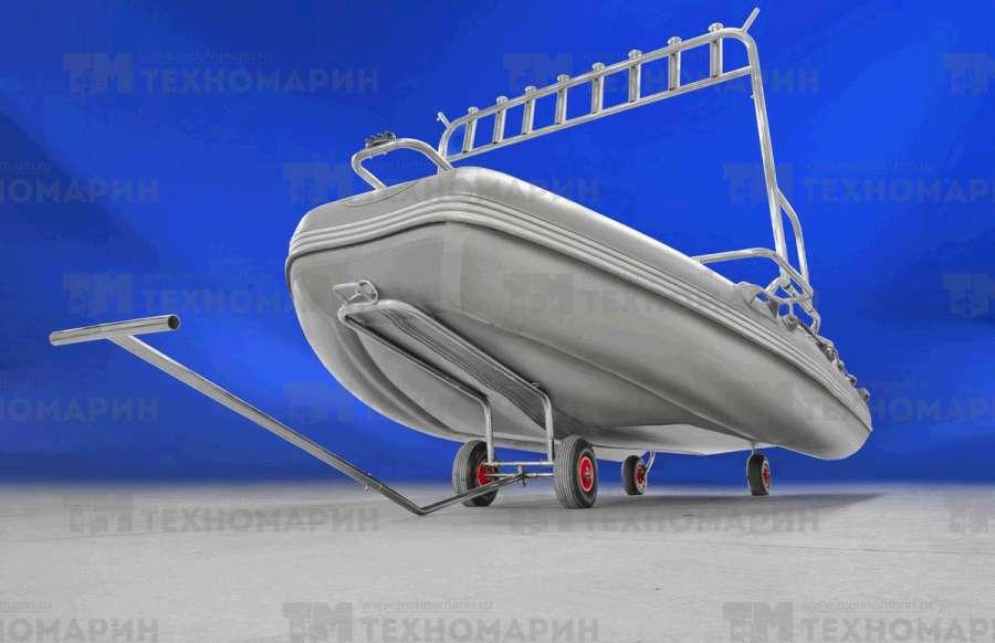 Телега для надувной лодки